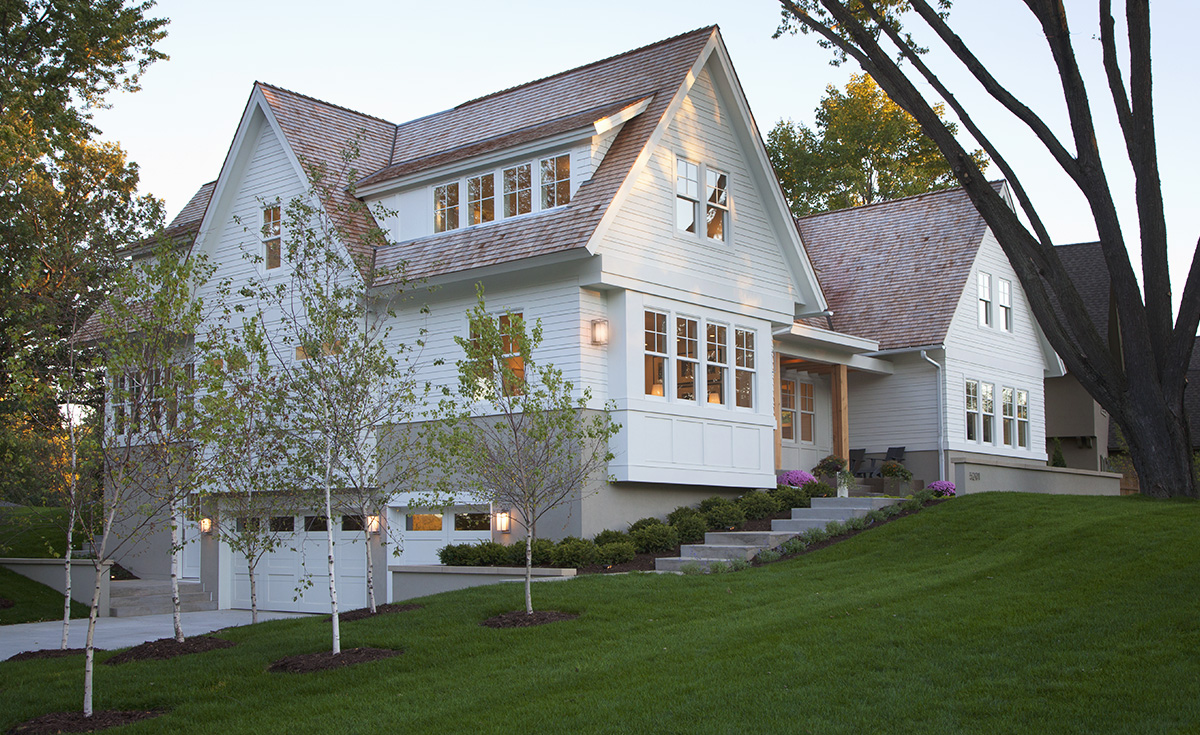 Elevation homes minnesota custom home builder for Contemporary custom home builders