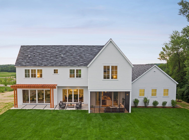Deer Hill | Elevation Homes Portfolio Deer Farm House Design Html on